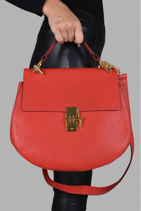 Grand sac à bandoulière Drew - Chloé - Modalova