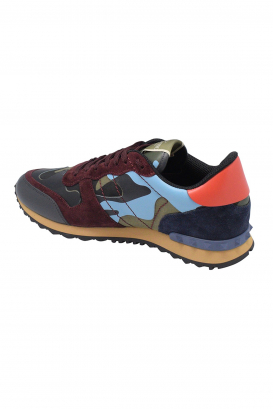 Valentino Rockrunner camouflage multicolor sneakers