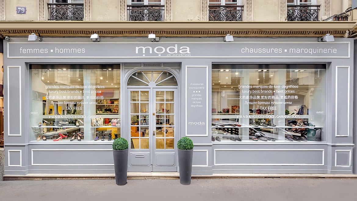 devanture-boutique-modadiandrea-paris-vitrines-chaussures